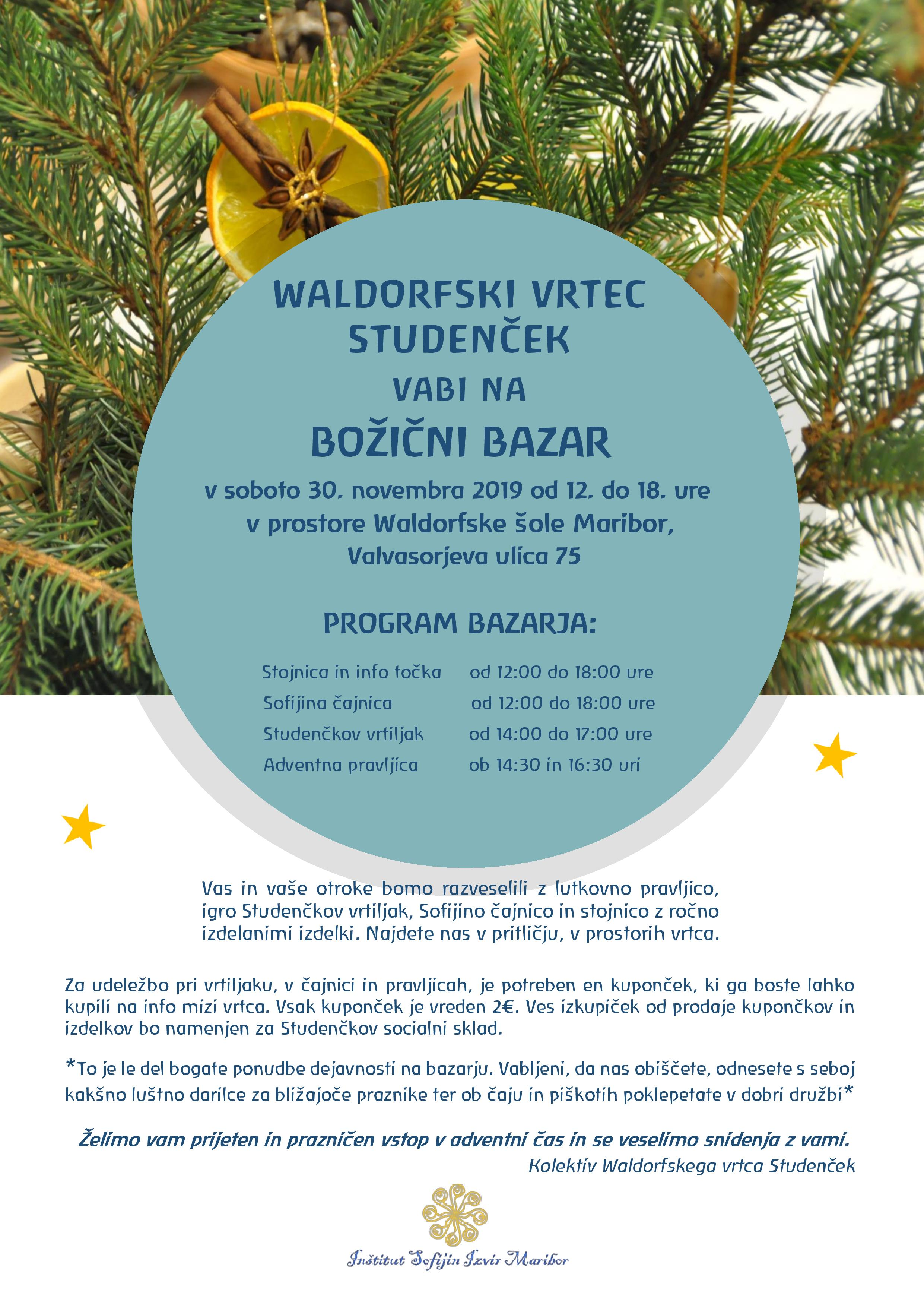 Vabilo_Bozicni_Bazar_30.11.2019